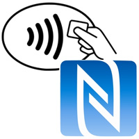 NFC contactless payment system logo