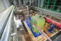 Geothermal Power Plant Unterhaching, interior view