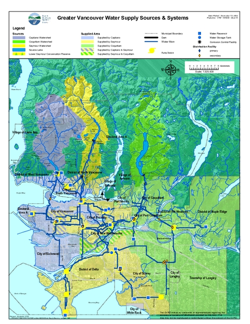 Greater Vancouver Water Supply Sources and Systems
