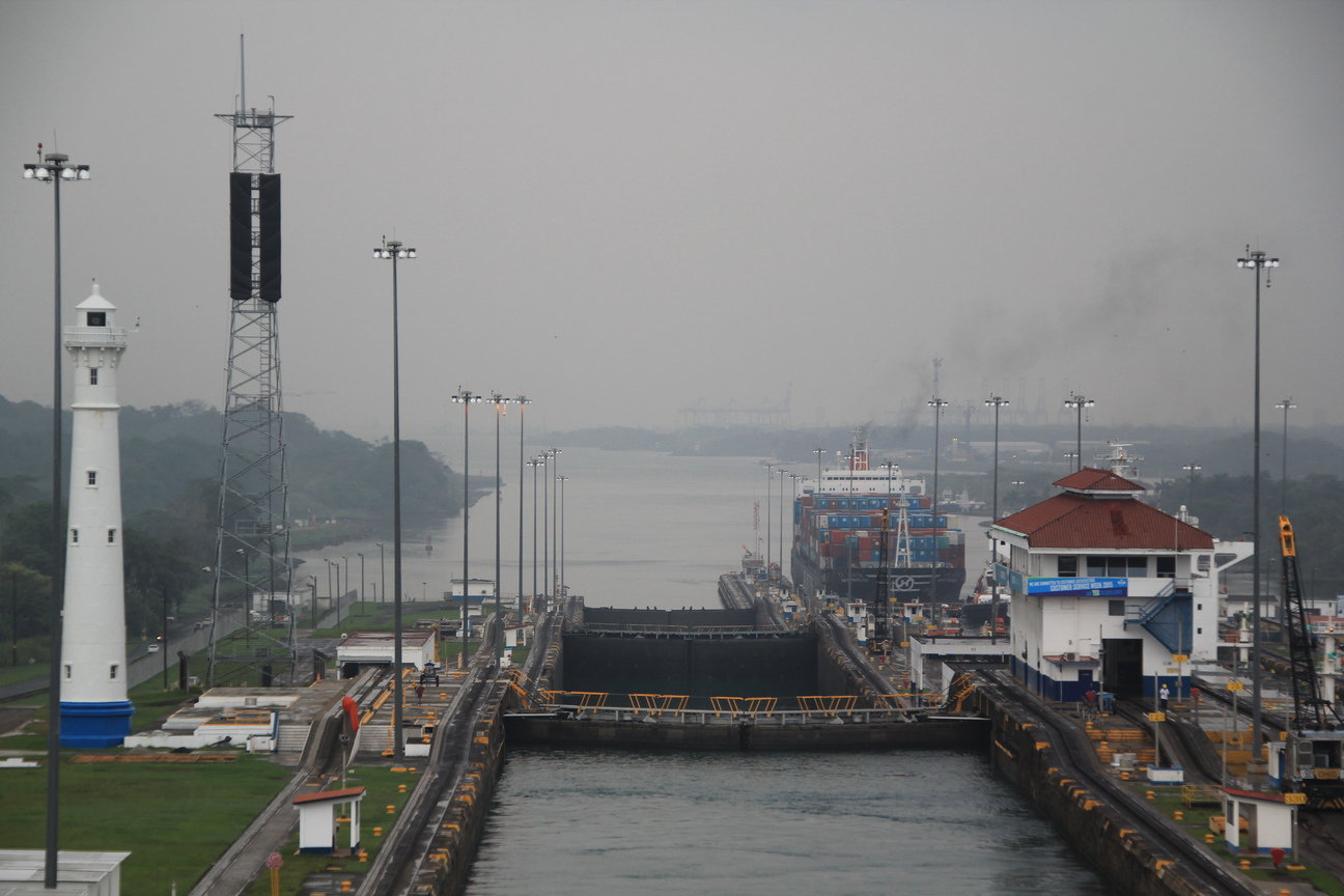 Panama Canal - Gatun Locks, May 5, 2015
