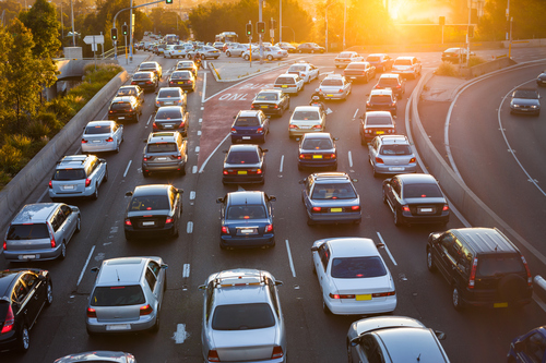 Traffic Congestion, licensed by iStockphoto