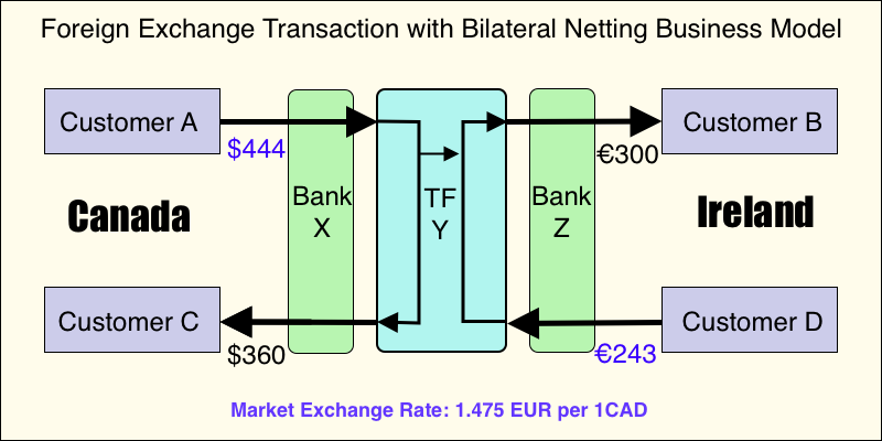 FX Fees - Bilateral Netting Business Model