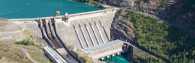 Revelstoke Dam, Aerial Photo. Source: B.C. Hydro